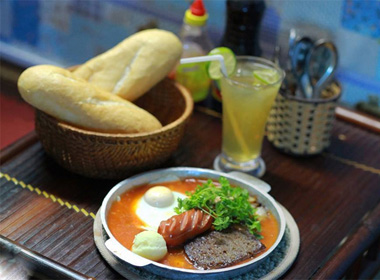 7 hàng bánh mì chảo vừa ngon vừa rẻ ở Hà Nội