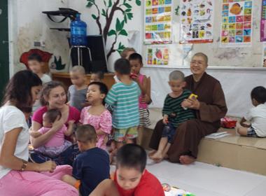 Trụ trì chùa Bồ Đề: 'Nhà chùa muốn tiếp tục nuôi một số trẻ'