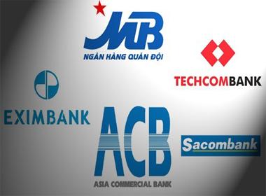 Cú rơi mới trong top 5 ngân hàng cổ phần