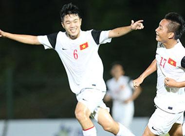 U19 Việt Nam vào bán kết sau trận thắng áp đảo Campuchia
