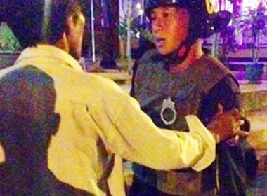 Vụ chết do bị cảnh sát cơ động đuổi: 2 người bị đình chỉ công tác