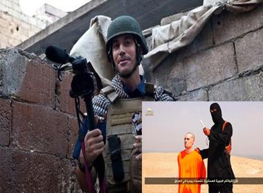 Phiến quân Hồi giáo 'chặt đầu nhà báo Mỹ'