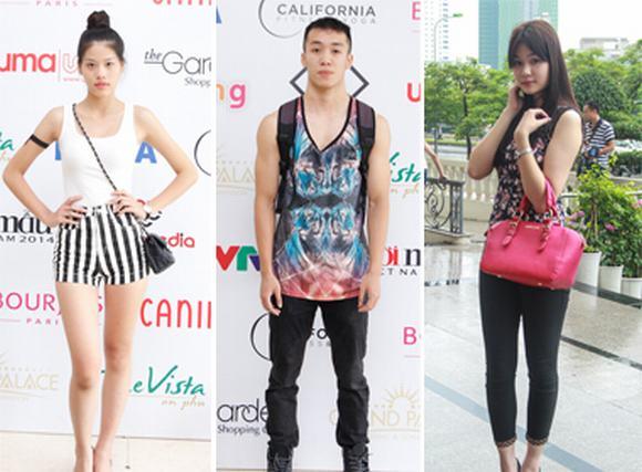 Vietnam's Next Top Model 2014: Phong cách thời trang đa dạng của thí sinh