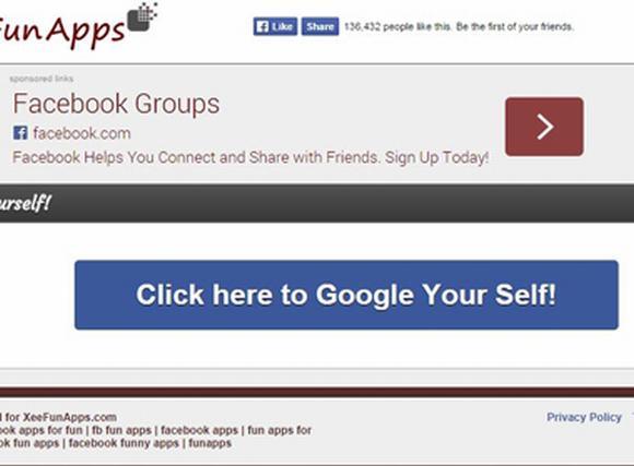 Ứng dụng 'tìm kiếm bản thân' gây sốt cộng đồng mạng