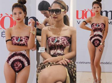 Vietnam's next top model 2014: Lộ diện bản sao siêu mẫu Thanh Hằng