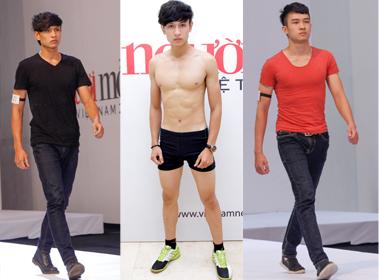 Vietnam's Next Top Model 2014:  Xuất hiện 3 hot boy 'giống hệt nhau'