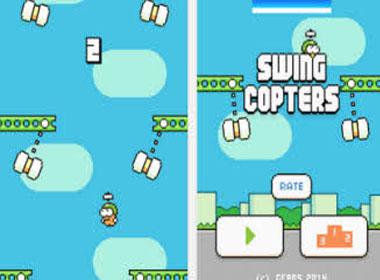 Nguyễn Hà Đông chính thức phát hành game siêu khó Swing Copters