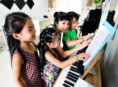 Đồ Rê Mí 2014: Đột nhập phòng tập hát của các bé