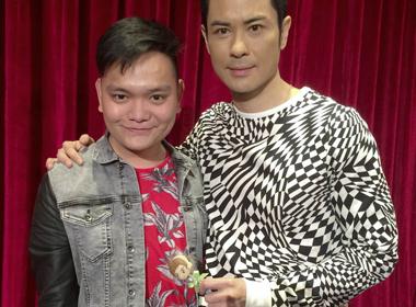 Stylist Trịnh Tú Trung dự sinh nhật ngôi sao Hong Kong Trịnh Gia Dĩnh