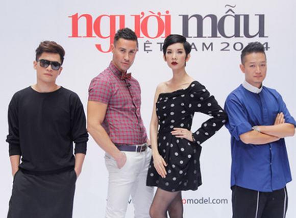 Vietnam's next top model 2014: Soi gu thời trang của giám khảo vòng hình thể