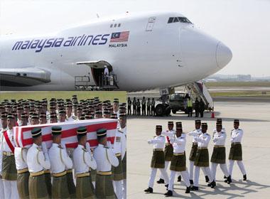 Malaysia đón nhận thi thể nạn nhân MH17