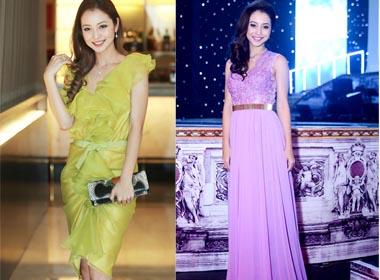 Những bộ váy ngắm mãi không chán của Jennifer Phạm