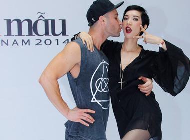 Vietnam's next top model 2014: Adam và Xuân Lan hóa thân thành cặp đôi 'xì tin' hướng dẫn thí sinh