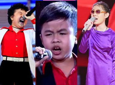 Giọng hát Việt nhí  2014: So sánh 'gà nòi' của 3 đội