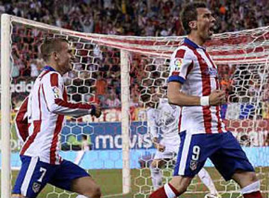 Atletico - Real: Đòn phủ đầu chớp nhoáng