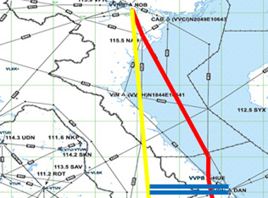 Việt Nam lập 'đường bay vàng' qua không phận Campuchia