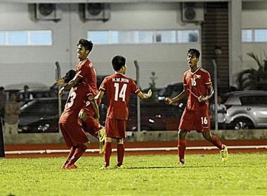 U.19 Myanmar ngang ngửa với U.19 Việt Nam