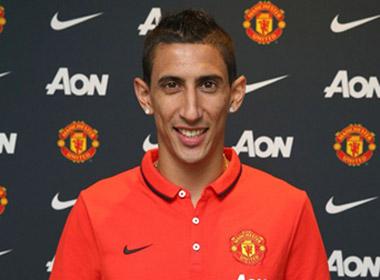 Manchester United chính thức sở hữu Angel Di Maria