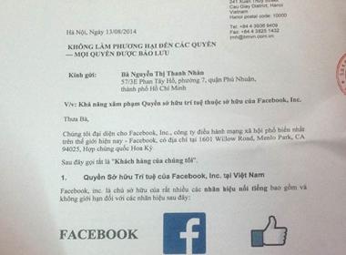 Facebook 'dọa kiện' nhà hàng Nàng Gánh