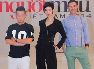 Vietnam's next top model 2014: Nam Trung bất ngờ vắng mặt vòng hình thể