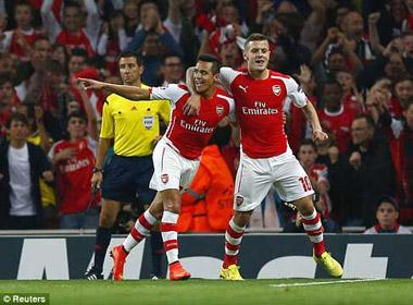 Arsenal - Besiktas: Nghẹt thở đến phút cuối