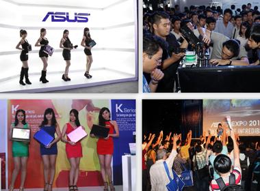 ASUS đón siêu phẩm, tăng tốc chuẩn bị ASUS Expo 2014