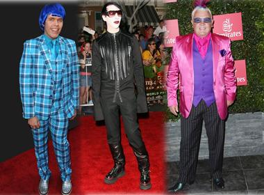 4 triệu phú ăn mặc quái dị nhất thế giới