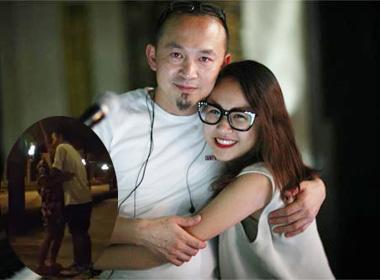 Nụ hôn đặc biệt trong clip kỷ niệm 4 tháng yêu nhau của con gái Quốc Trung