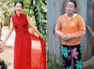 Những thiếu nữ Việt mang khuôn mặt… bà lão