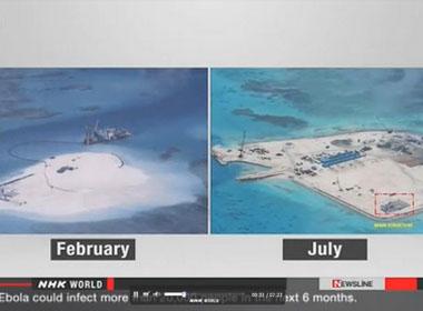Báo Nhật: Trung Quốc đang xây thêm căn cứ quân sự tại Trường Sa