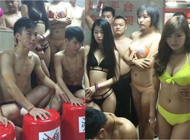 Công sở Trung Quốc cởi đồ, tẩy chay trào lưu dội nước đá