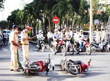 Hà Nội: Nhiều va chạm giao thông trong ngày đầu nghỉ lễ 2/9