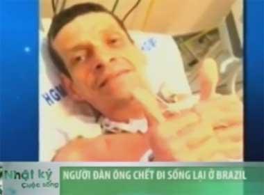 Video người đàn ông chết đi sống lại tại Brazil