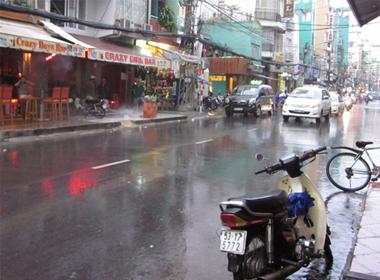 Cả nước mưa trên diện rộng trong hai ngày nghỉ lễ 1 và 2/9