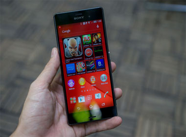 Cận cảnh smartphone Xperia Z3 của Sony