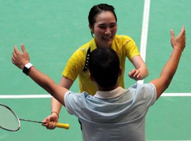 Vũ Thị Trang gây ấn tượng ở Giải cầu lông VN mở rộng