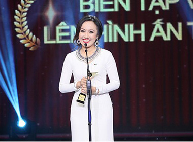 Hoài Anh giành giải thưởng BTV ấn tượng của VTV