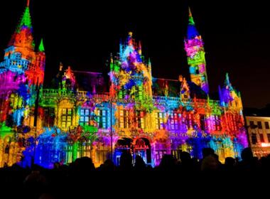 Lễ hội ánh sáng đỉnh cao ở châu Âu