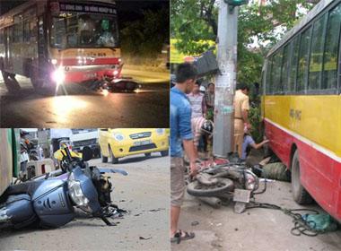 Tai nạn thương tâm từ 'hung thần' xe buýt
