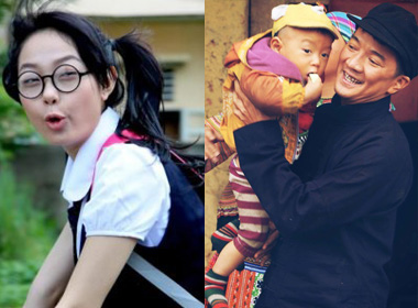 Những tạo hình chết cười của ca sĩ Việt trên phim