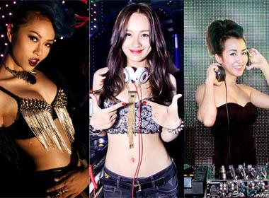 Bộ 3 nữ DJ xinh đẹp, gợi cảm và quyến rũ  bậc nhất Hà thành