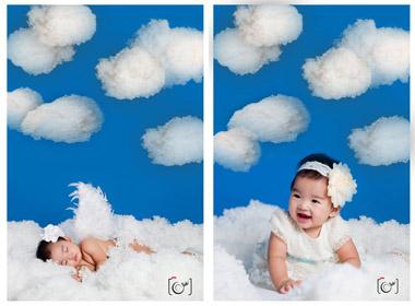 Con gái Xuân Lan hoá thành thiên thần
