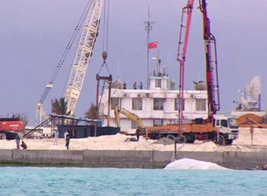 Tận mắt chứng kiến hoạt động xây đảo phi pháp của Trung Quốc ở quần đảo Trường Sa