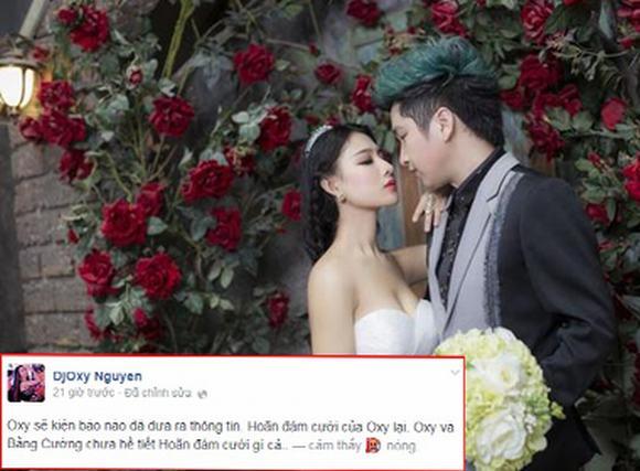 DJ Oxy dọa kiện báo tung tin hoãn đám cưới với Bằng Cường