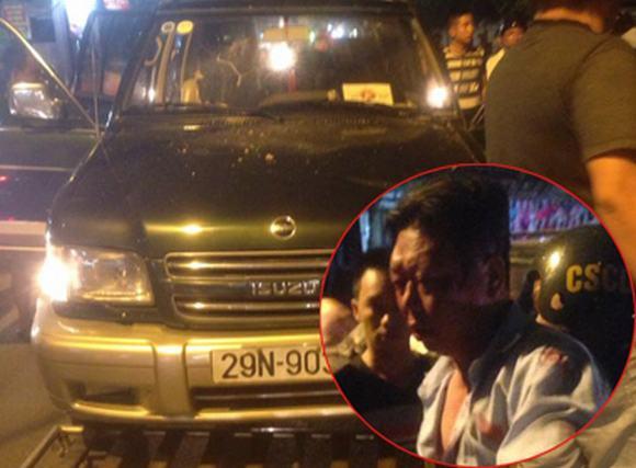 Cận mặt lái xe 'điên' gây tai nạn liên hoàn trên phố Hà Nội