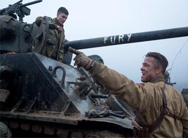 Fury: Phim mới của Brad Pitt hấp dẫn ra rạp