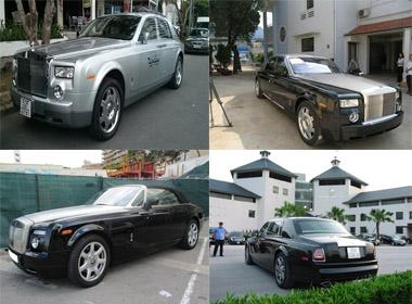 6 chiếc xe Rolls-Royce đặc biệt nhất Việt Nam
