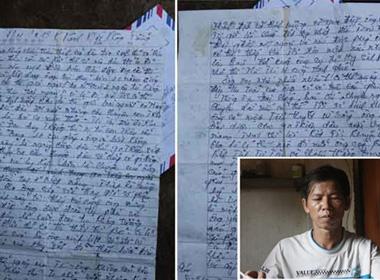 Xúc động bức thư của 'bạn tù tri kỷ' gửi ông Nguyễn Thanh Chấn