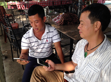 Lộ diện người sở hữu 'siêu phẩm' Iphone 6 Plus ở Hà Nội