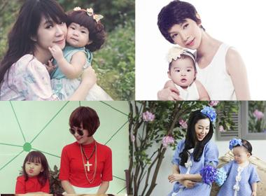 4 cặp mẹ và con gái sành điệu nhất showbiz Việt